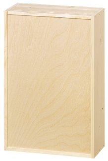 3er Holzkiste mit Schiebedeckel